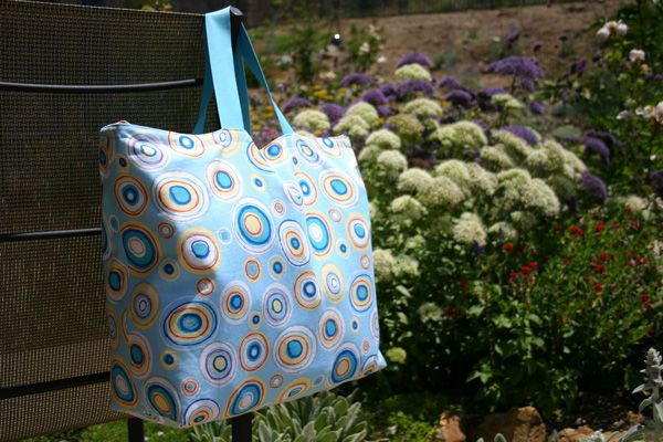"""Easy tote bag tutorial.  My bag was 13x16"""", with two 1x24"""" straps.  Took a couple hours on my first try."""