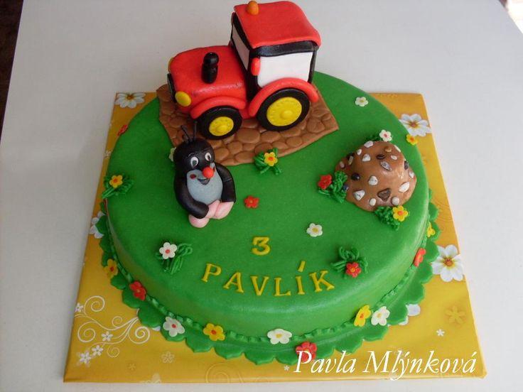 Traktor a krtek
