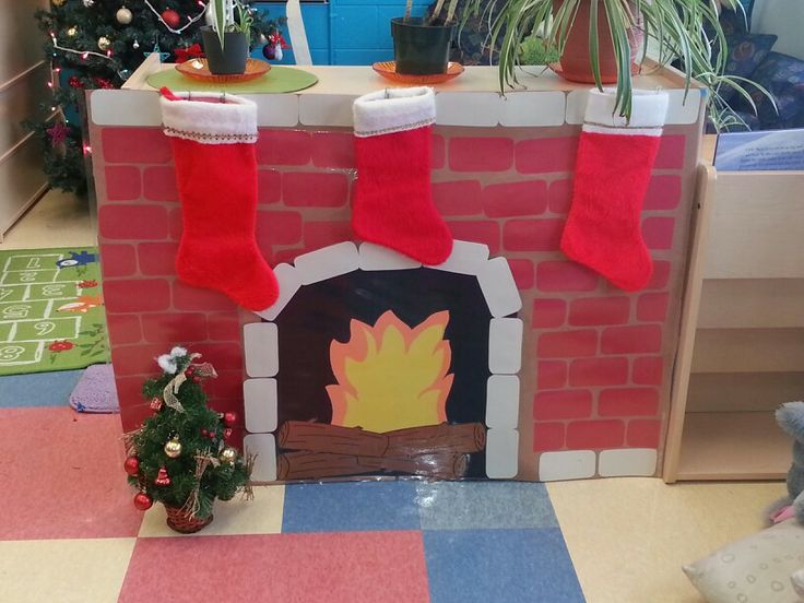 crafting ideas with paper fireplace for the children all made out of construction 4116