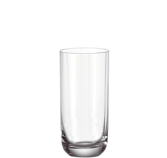 Der formschöne Becher von LEONARDO besticht durch seine ansprechende Optik! Er kommt in klarem Glas mit einem abgerundeten Boden. Genießen Sie ca. 420 ml Säfte, Mineralwasser oder Softdrinks und reinigen Sie den Becher praktischerweise in Ihrer Spülmaschine. Mit dem Becher profitieren Sie von Markenqualität!