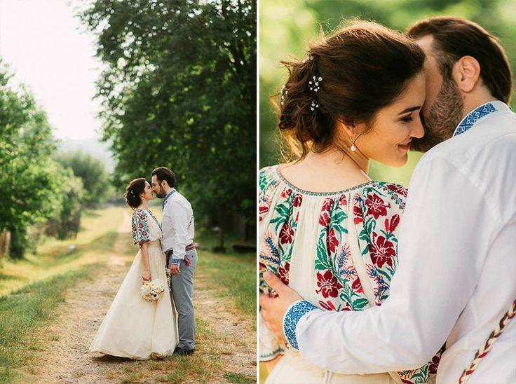 Iulia&Andrei unique civil mariage in the village museum<3 #traditionalwedding