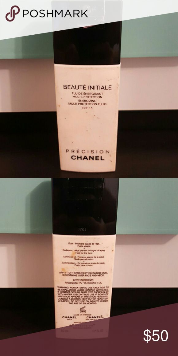 CHANEL moisturizer Its %40 full....you need very little each time you use it....will go for a long long time....it's a multi protection fluid CHANEL Makeup Face Primer