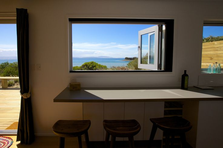 The view, the bench, the bar stools…..all carefully thought out from well before it was built.  sandtemple at Cremorne