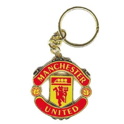 Manchester United Football Club Crest Car Keyring Key Ring Official Man Utd MUFC  | eBay