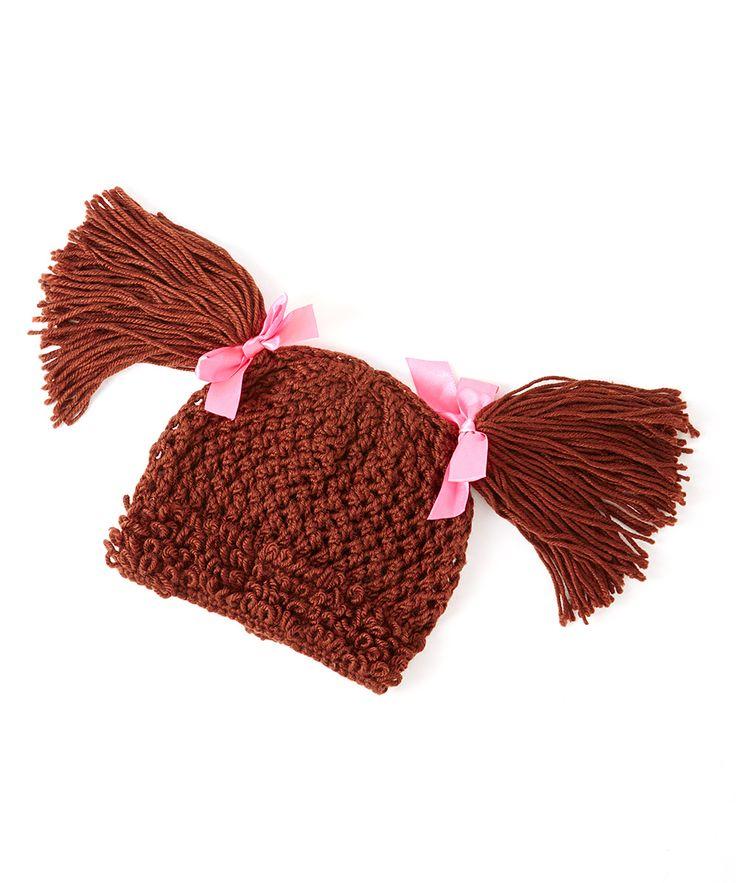 top wedding invitations016%0A Dark Brown Short Loose Pigtails Yarn Hat  Kids