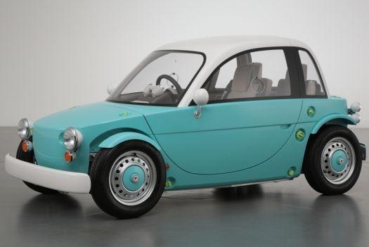 Toyota Unveils A Mini Car For Kids: For Kids, Camatte Sora, Vehicle, Kids Cars, Concept Cars