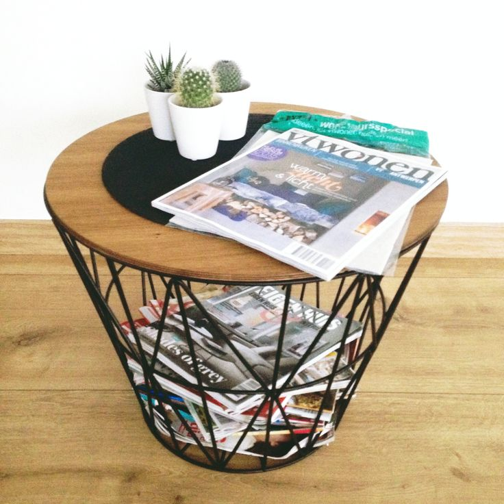 Ferm living - Wire basket - Vtwonen - Tijdschriften - Cactussen