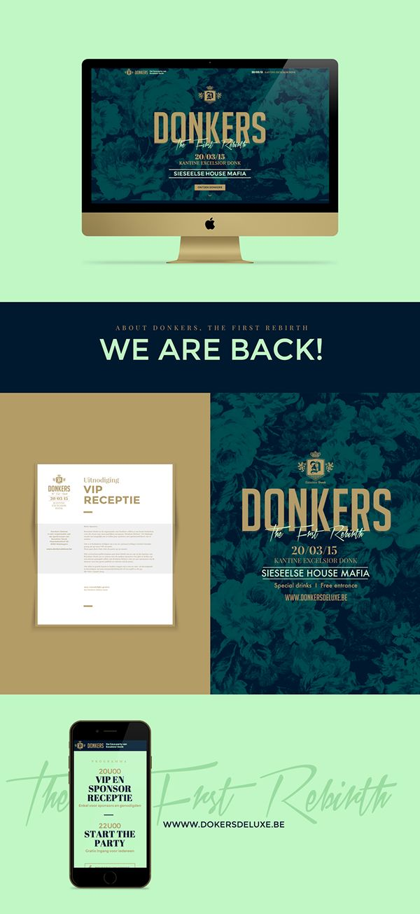 Donkers Deluxe on Behance