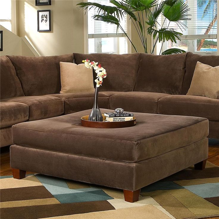 Canyon Ottoman by Simple Elegance Want this whole set.