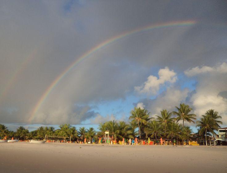 Arco iris - Praia de Guaibim