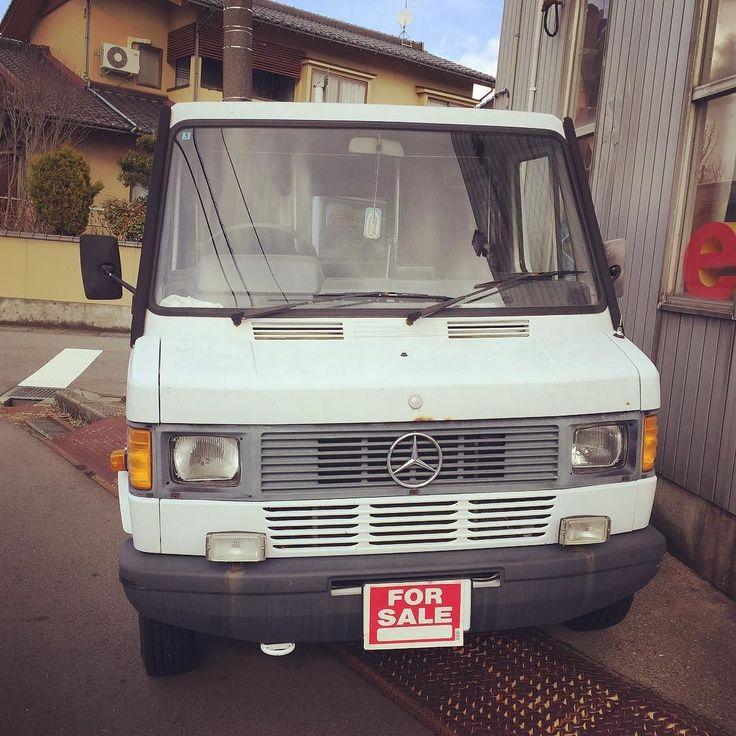 ベントラ売りますnow on sale650000 ヨロシクお願いします #Benz #transporter #mercedes #ベントラ #キャンプ #ベンツ #キャンピングカー #アウトドア #車中泊 #移動販売 #campingcar #campervan #vanlife #motorhome #mobilehome #surfvan #vanagon #outdoors #tinyhouse #ミニマリズム#ノマド#minimalism #delivery #toyama by ease_antiques