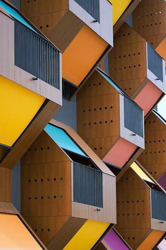 Honeycomb Apartments, Slovenia.