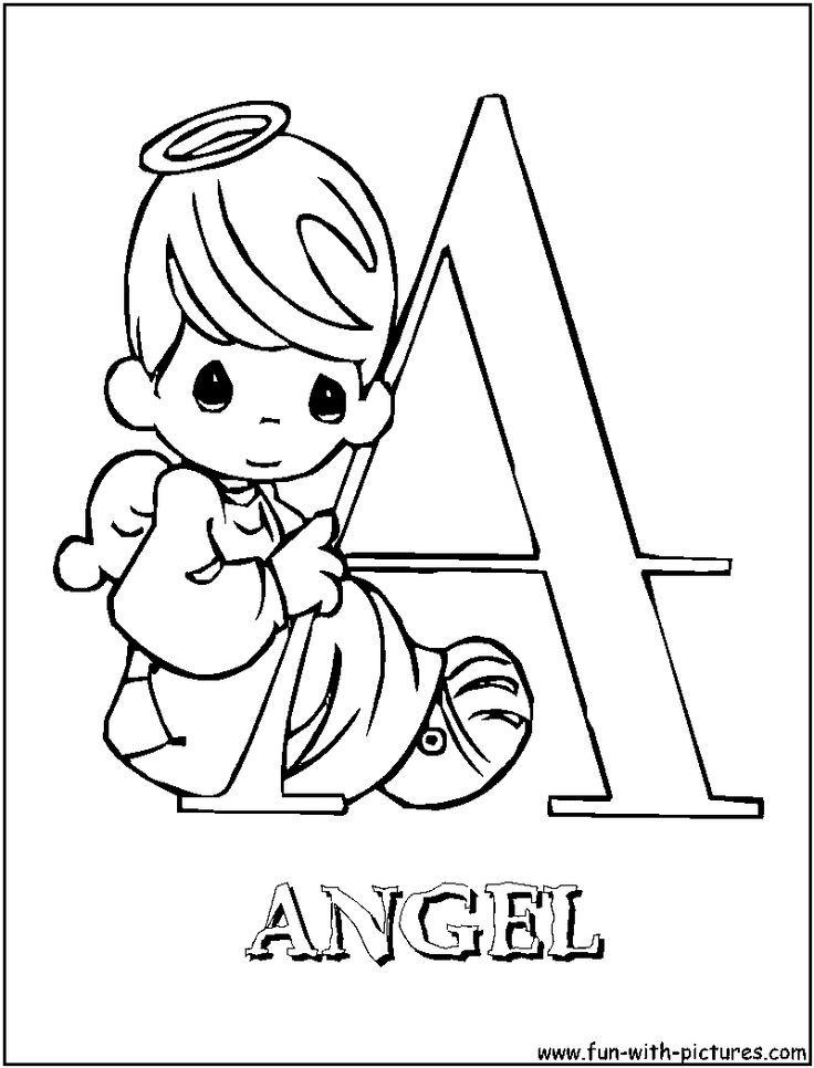 Precious Moments Angels Drawings
