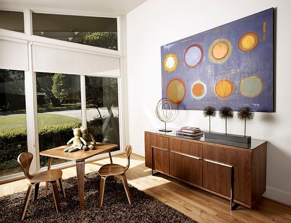 Beautiful roller blinds for large windows