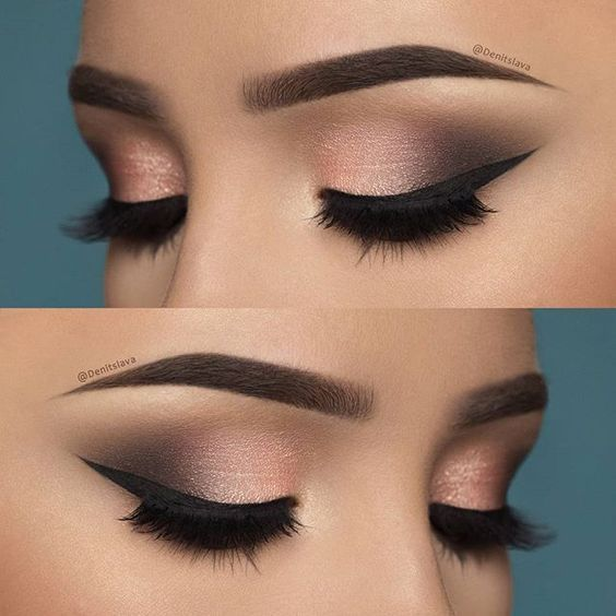 Smoky Eye Make-up mit Step by Step, perfekt und in Minuten! – #Eye #Makeup #Minu…