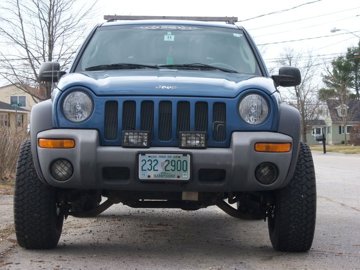 Jeep Liberty Rough Country Lift Kit Ifonly2005 S 2003