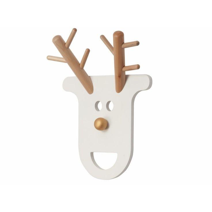 Leer uw kind zelf zijn of haar kamer netjes te houden en kleren op te hangen met de O Deer kapstok van JIP.
