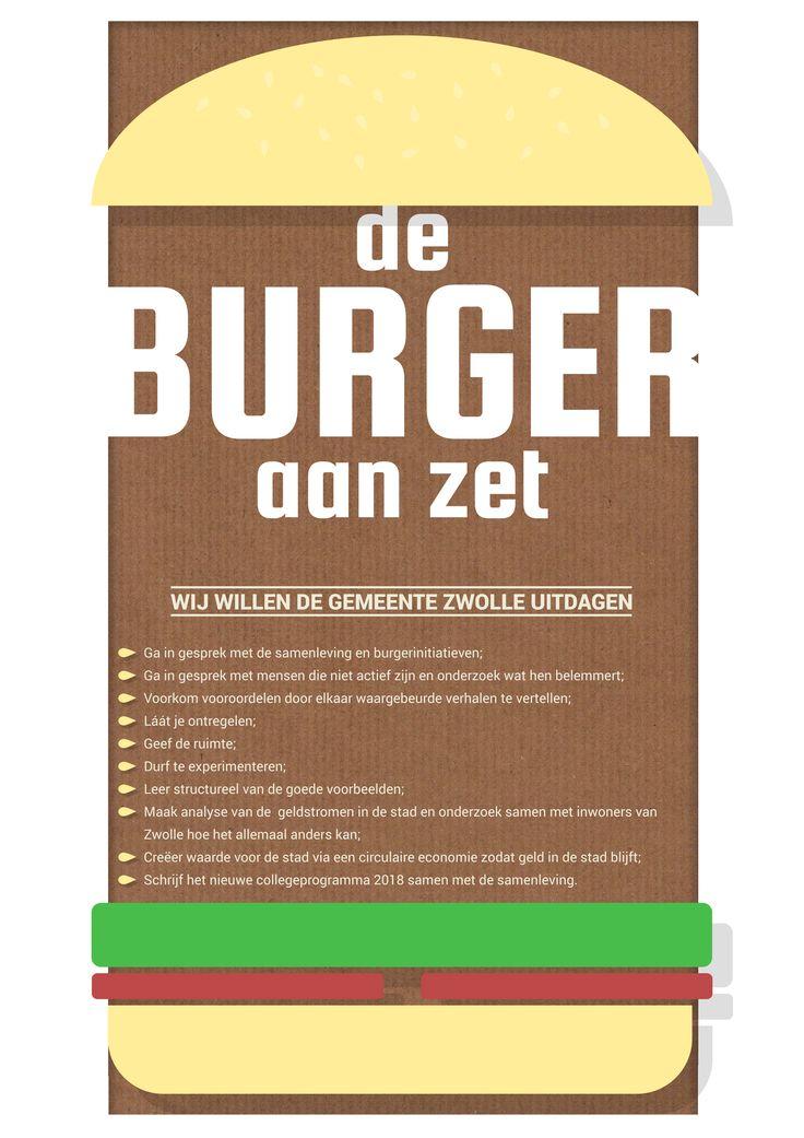 Kanteling politiek in Zwolle door burgers die daartoe uitdagen.