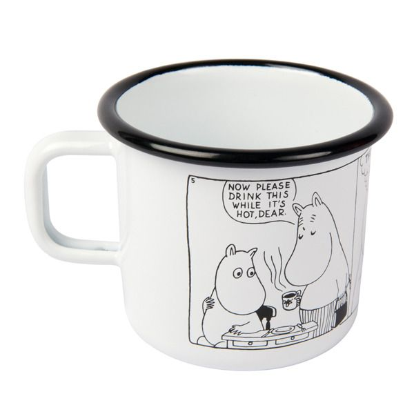 Moomin Shop mug Comic #2