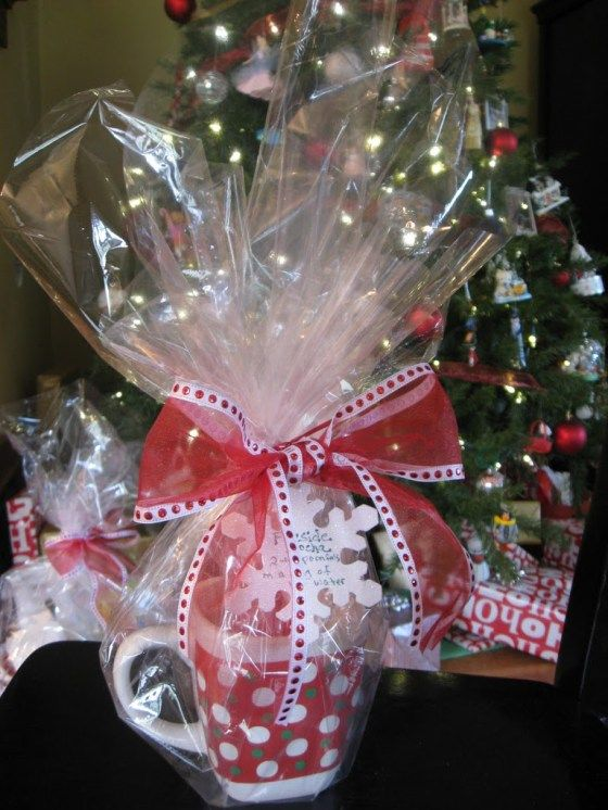 Fireside Mocha Mug -Easy Teacher Gifts! Holiday Christmas-Cookies