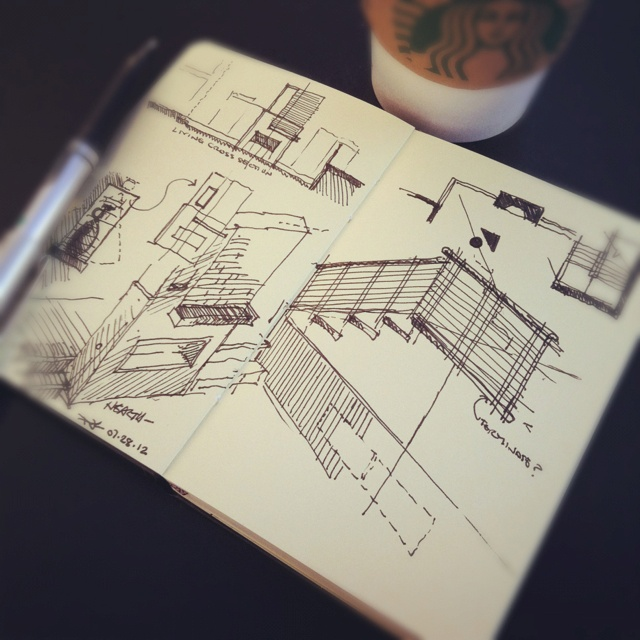 57 best totem blueprint architectural sketch images on pinterest remodel options coffeesketch architecture malvernweather Images