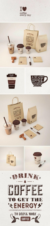 Custom takeaway coffee supplies  Handstamped