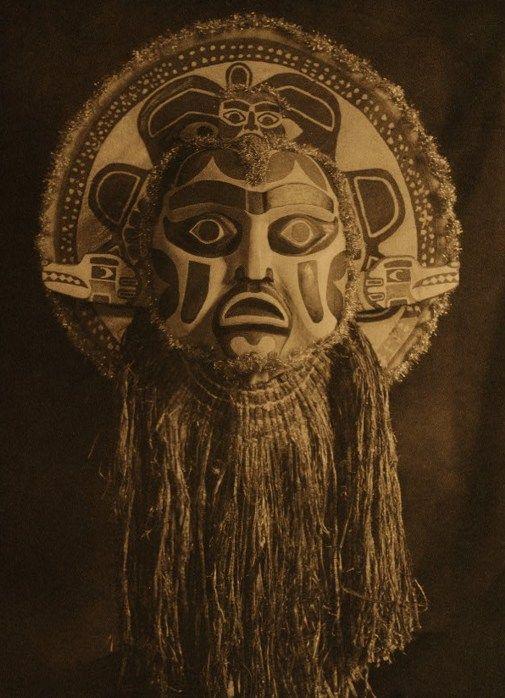 Dancing Mask - Nootka, 1915