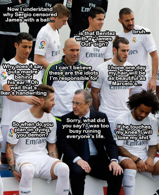 Real Madrid  January 2016
