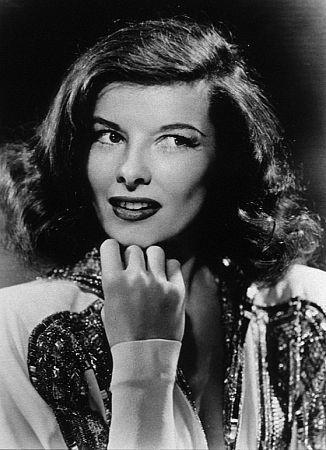 Katherine Hepburn. Specifically Katherine Hepburn in The Philidelphia Story which is a wee genius of a movie.