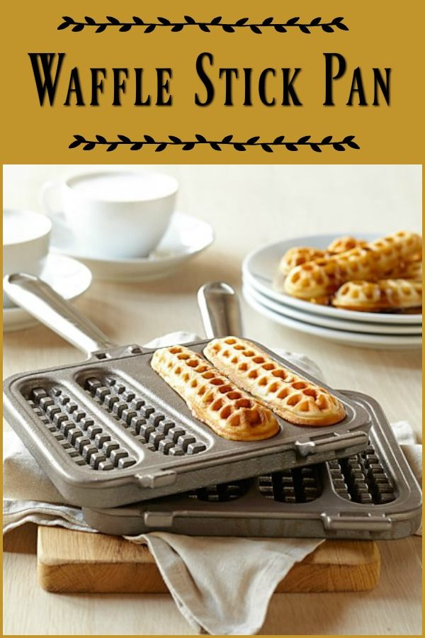 Waffle Stick Pan by Nortic Ware - Waffle sticks are a fun twist on traditional waffles and easy to make at home. #waffles #ad #breakfast