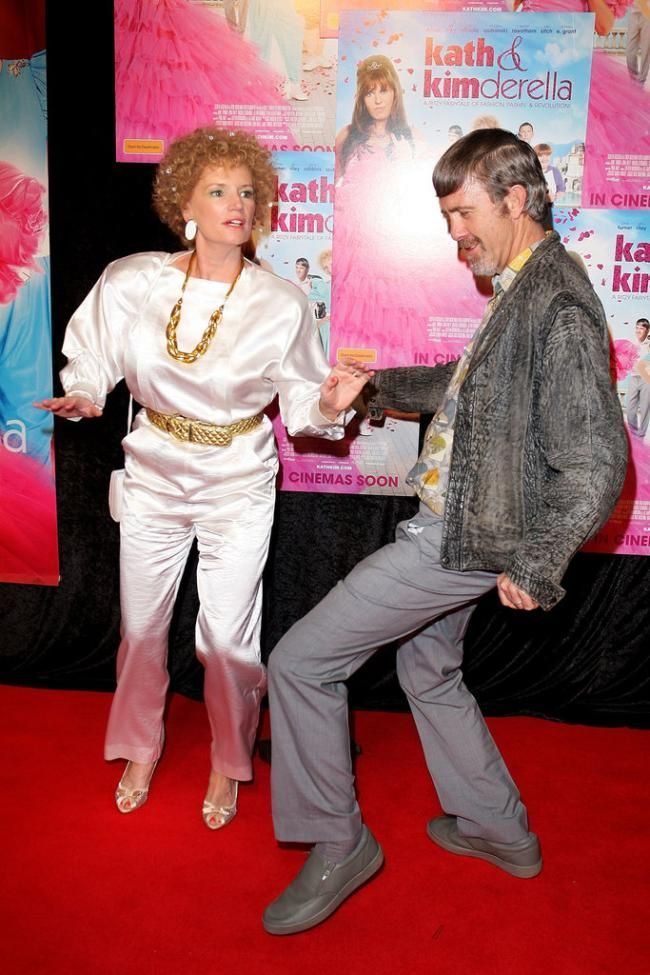 Kath & Kimderella Glenn Robbins as Kel Knight trips the light fandango with Jane Turner as Kath Day