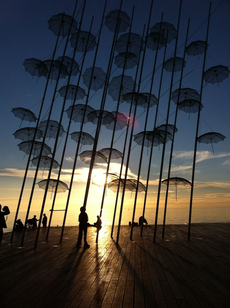 Thessalonikh, Umbrellas