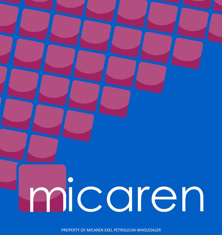 Micaren pump sticker