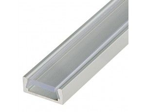 Klus B1888_K7 - MICRO-ALU series Surface Mount Black Anodized Aluminum LED Profile Housing