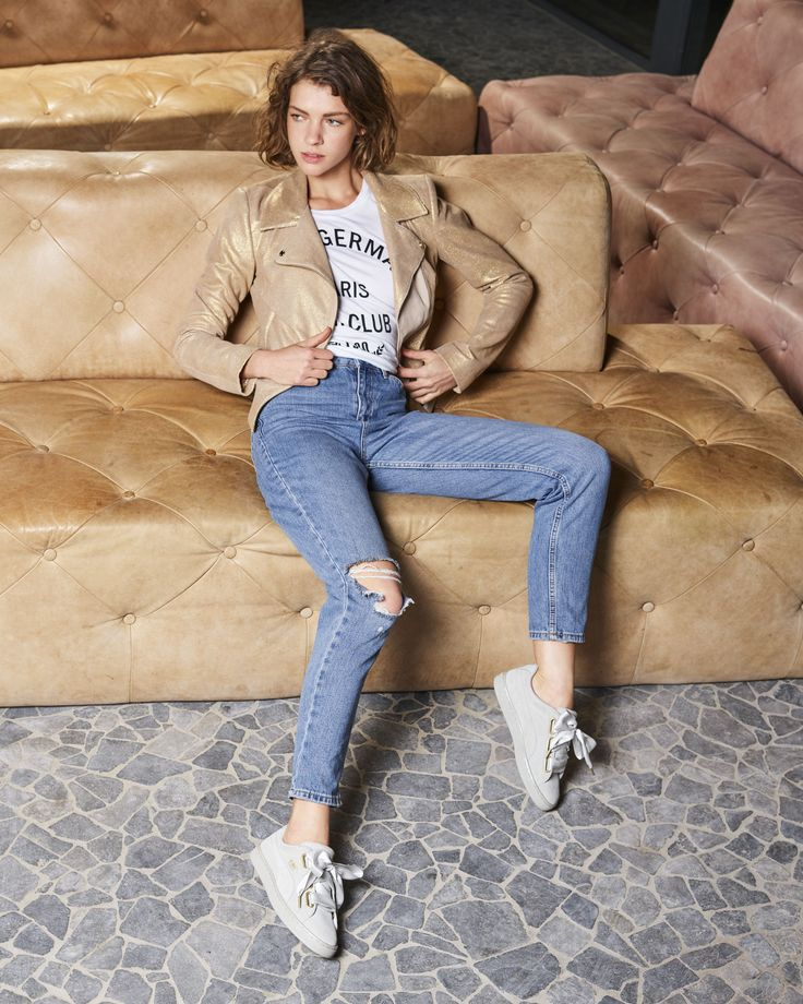Full Look | Fashion | Shoes | SS17 | Neutrals | Sneakers | Basket heart | Puma --> www.omoda.com/...