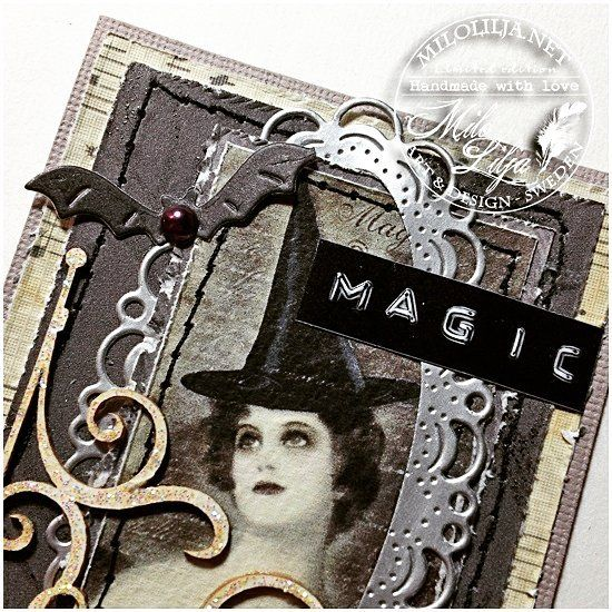 Witchy ATC card. Swipe for more pics.  See all my ATC cards at: {#miloliljaartATC} {#miloliljaART} {#miloliljascrapiniec}    {#scrapiniec} {#witch} {#chipboard}    {#myart} {#scrapbooking} {#tarjetas} {#handmadecard} {#kortlaging} {#scrapping} {#instadaily} {#art} {#instaart} {#artist} {#masterpiece} {#paperart} {#crafting} {#creative} {#scraptop} {#vintage} {#shabbychic} {#mixedmedia} {#atc} {#atctrade} {#atccard} {#artisttradingcard} {#tradingcards} {#cardmaking}