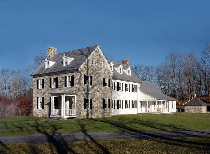 neumann lewis buchanan architects - Stone Farmhouse Exteriors