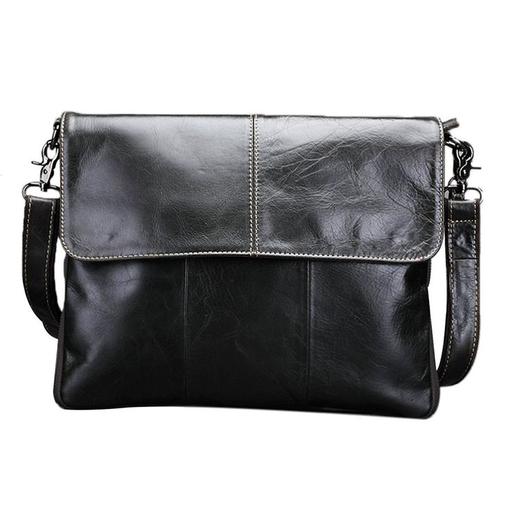 ... Genda 2Archer Leather Flap-Over Business Briefcase Messenger Shoulder  Satchel Bag Visit the lowest price  adidas ... f251f9e611