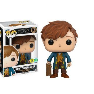 Newt Scamander's Funko Pop! figurine I don't collect pop vinyls but I want this one and the exclusive triple pack so much :'( <3
