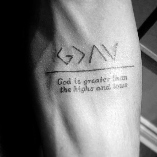 40 Forearm Quote Tattoos for Men – Written Design Ideas