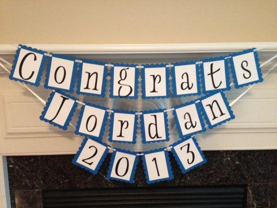 Graduation Banner Decoration. #Graduation