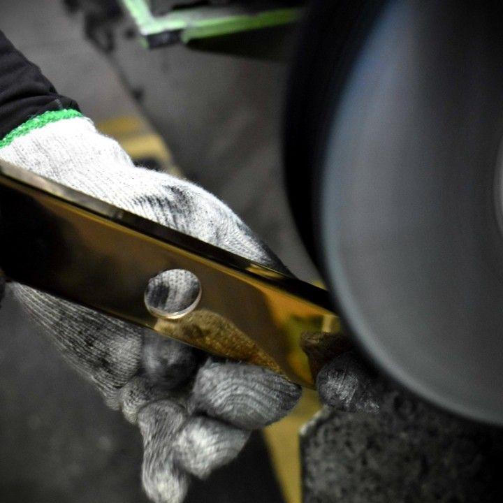 #polishing #doorhardware #brass #metalwork #design #engineering #lever #makers #nz #newzealand