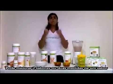 YouTube (libras surdo deaf) Aprenda preparar Shake Herbalife com Maria Fernanda