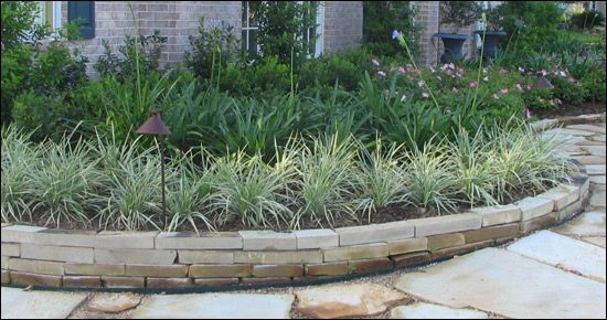 Landscaping Boulders Houston : Ideas about landscape borders on yard