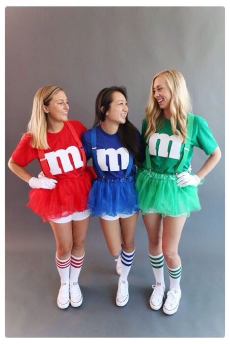 Teen Halloween costume m&m costume