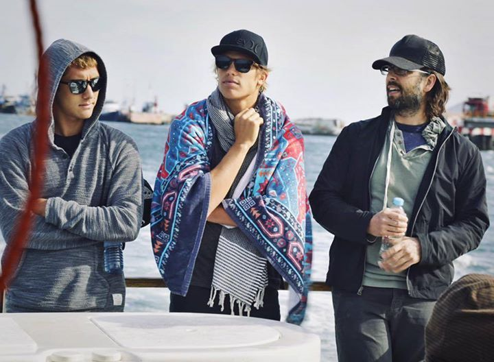 Rob, Koa Smith, Koa Rothman - Mangroves tour in Baja with Music for Relief and…