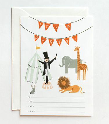 children's circus birthday..