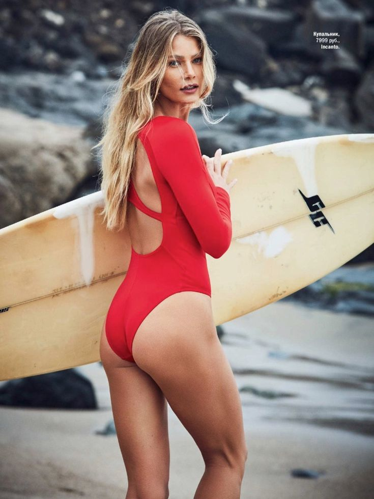 Tori Praver | Glamour Russia | Swimwear Fashion Editorial