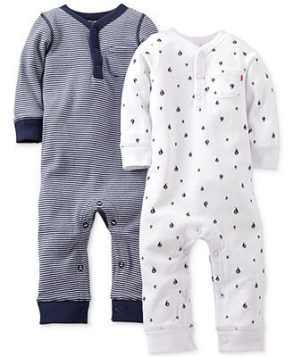 Carter's Baby Boys' 2-Pack Coveralls