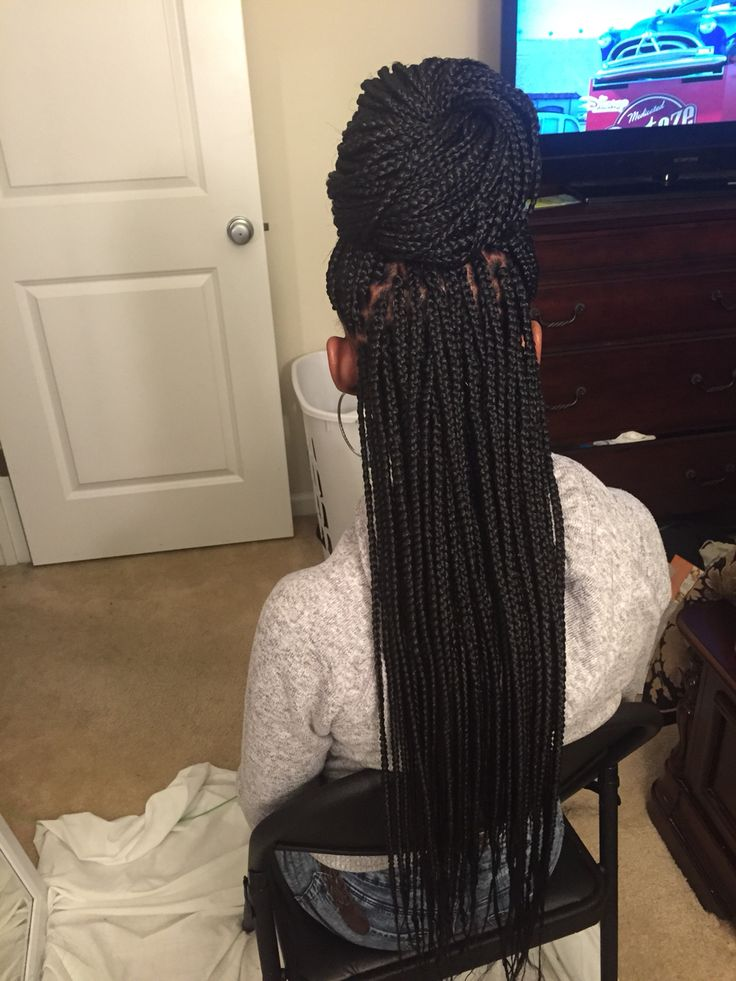Best 25 Small box braids ideas on Pinterest